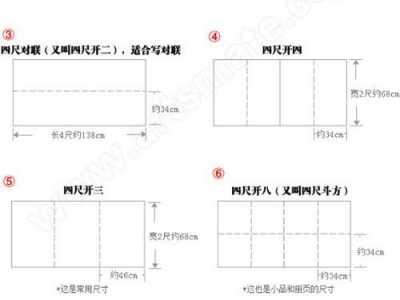 四尺宣纸尺寸 中国宣纸尺寸对照表